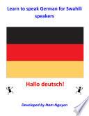 Learn to Speak German for Swahili Speakers