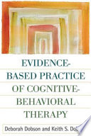 Evidence Based Practice Of Cognitive Behavioral Therapy