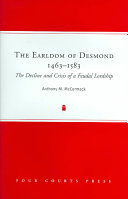 The Earldom of Desmond 1463 1583