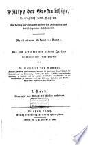 Philipp der Großmüthige, Landgraf von Hessen