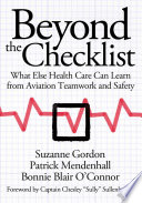 Beyond The Checklist : dollars to improve