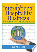 The International Hospitality Business