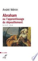 Abraham ou l apprentissage du d  pouillement