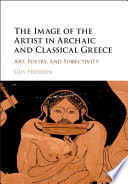 The Image Of The Artist In Archaic And Classical Greece book