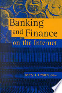 Banking and Finance on the Internet Book PDF