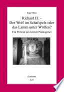 Richard II    der Wolf im Schafspelz oder das Lamm unter W  lfen