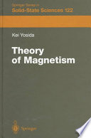 THEORY OF MAGNETISM.