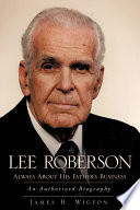 Lee Roberson    Always about His Father s Business