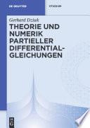 Theorie Und Numerik Partieller Differentialgleichungen book