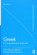 Greek: A Comprehensive Grammar