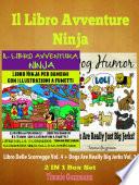 Il libro Avventure Ninja  Libro Ninja per Bambini