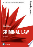 Law Express  Criminal Law