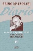 Diario (1938-25 aprile 1945)