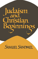 Judaism and Christian Beginnings