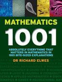 Mathematics One Thousand and One