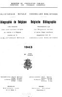 Belgische bibliografie