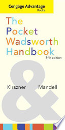Cengage Advantage Books  The Pocket Wadsworth Handbook