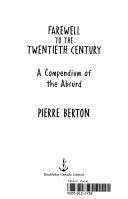 Farewell to the Twentieth Century