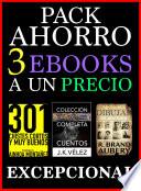 Pack Ahorro  3 ebooks