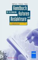 Handbuch f  r technische Autoren und Redakteure