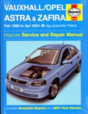 Vauxhall Opel Astra And Zafira Petrol