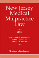 New Jersey Medical Malpractice Law 2019