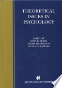 Theoretical Issues In Psychology