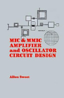 MIC & MMIC Amplifier and Oscillator Circuit Design