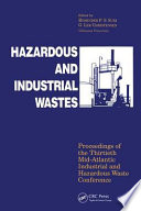 Hazardous and Industrial Waste Proceedings  30th Mid Atlantic Conference