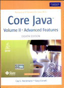Core Java Volume 2 Advanced Features 8 E