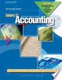 Century 21 Accounting  Multicolumn Journal  2012 Update