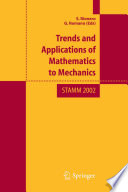 Trend and Applications of Mathematics to Mechanics
