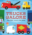 Trucks Galore : a fire or hailing from outer...