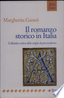 Il romanzo storico in Italia