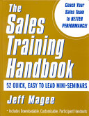 Sales Training Handbook