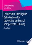 Leadership Intelligenz Zehn Gebote F R Souver Ne Und Sozial Kompetente F Hrung