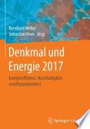 Denkmal und Energie 2017
