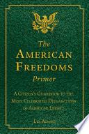 The American Freedoms Primer Book PDF