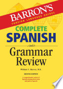 Complete Spanish Grammar Review  2nd edition