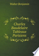 Charles Baudelaire Tableaux Parisiens