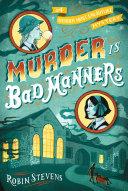 download ebook murder is bad manners pdf epub