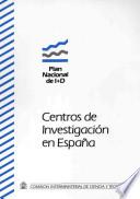 Centros de investigación en España