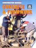 Construction Manual  Concrete   Formwork