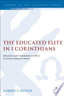 The Educated Elite in 1 Corinthians