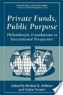 Private Funds  Public Purpose
