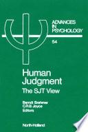 Human Judgment