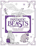 Fantastic Beasts and Where to Find Them  Magical Creatures Coloring Book