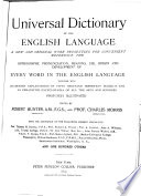 Universal Dictionary of the English Language  Ine Rhe Book PDF