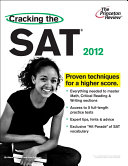 Cracking the SAT  2012 Edition