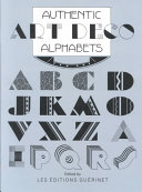 Authentic Art Deco Alphabets